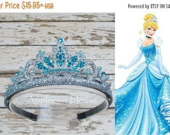 Cinderella Crown,Cinderella tiara,Disney Princess Headband, Birthday Cinderella Crown,Princess crown,Woman Cinderella Crown
