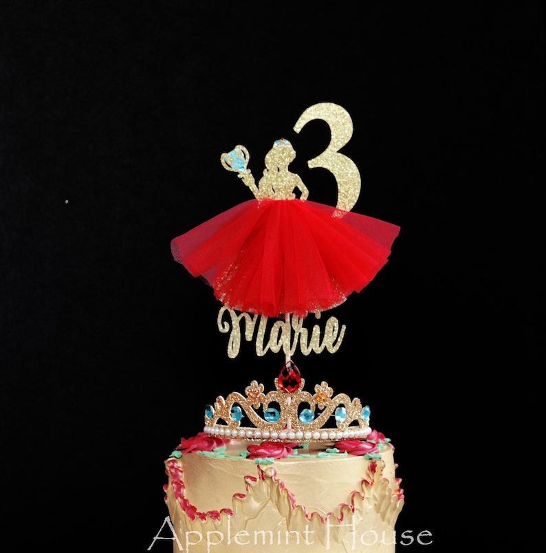 Elena Of Avalor Birthday Cake Topper Disney Princess