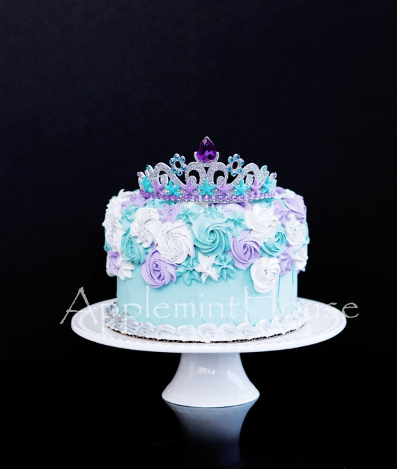 Admirable Mermaid Crown Princess Ariel Crown Mermaid Birthday Crown Etsy Personalised Birthday Cards Paralily Jamesorg