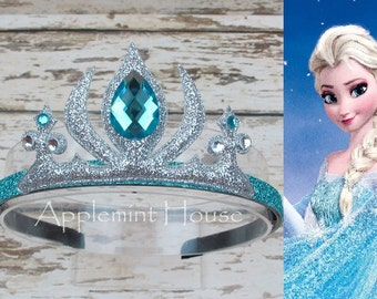 Frozen Elsa Crown,Elsa Birthday Headband,Frozen Headband,Birthday Elsa Crown,Princess headband,Elsa Headband,Elsa Crown,Woman Elsa Crown