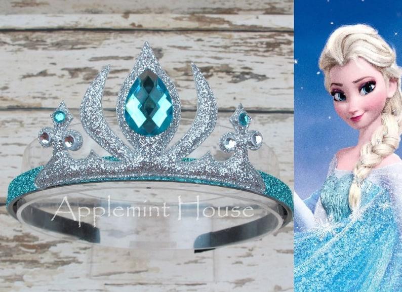 Frozen Elsa CrownElsa Birthday HeadbandFrozen image 0