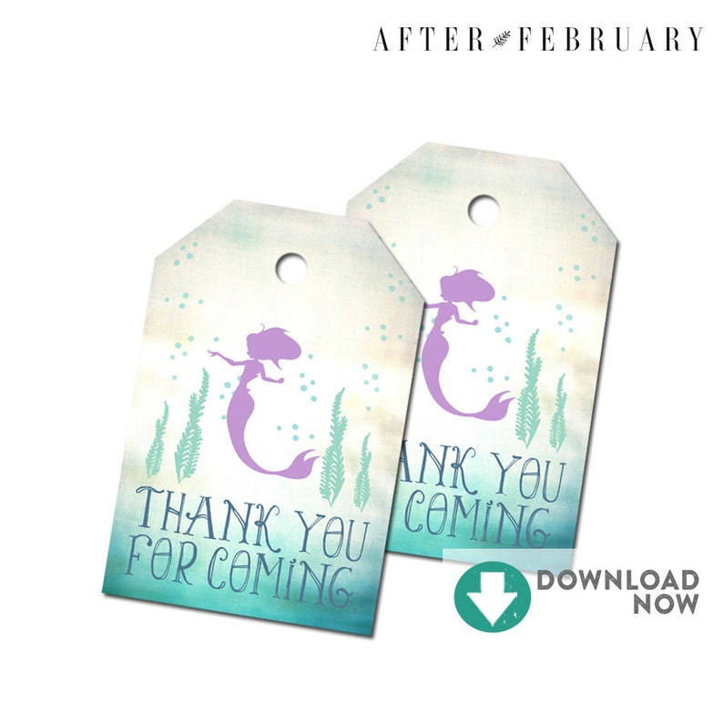 image regarding Printable Baby Shower Favor Tags identify Mermaid Kid Shower Favors Tag Thank Yourself Present Tag Printable Kid Shower Present Tags Printable (Instantaneous Obtain) No.332Youngster