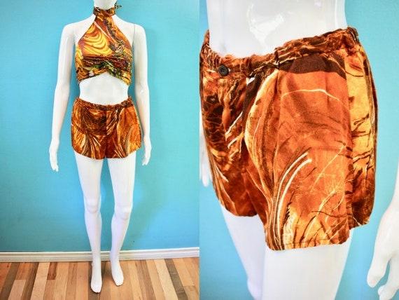 Hawaiian Shorts..........60's Women's Hawaiian Sho