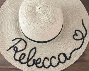 Personalised floppy hat f7d8a2d41918