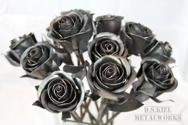 Steampunk Wedding Gifts: Steampunk Wedding Bouquet, Dozen Sweetheart Rose Bouquet