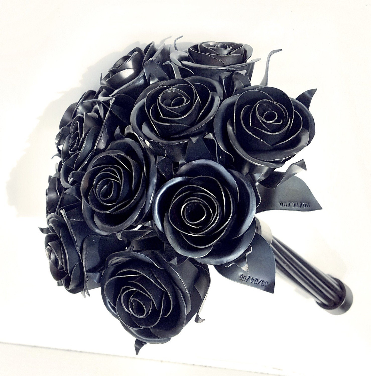 11th Anniversary Gift 11 Steel Rose Bouquet Metal Wedding Eleventh