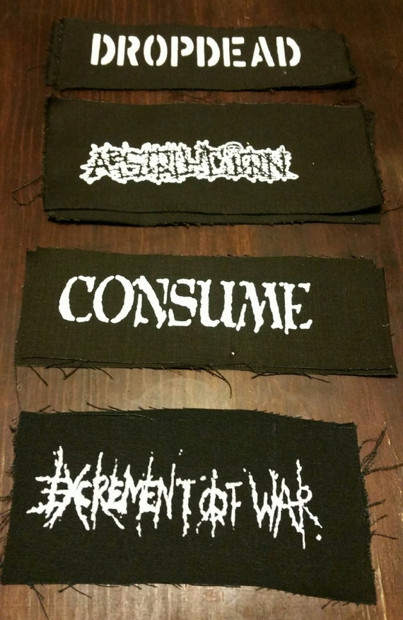 ANITI PRODUCT SYMBOL BACK PATCH-PUNK,CRUST,GRINDCORE,THRASH HC