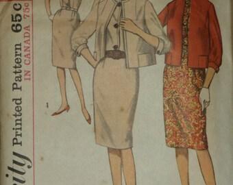 Vintage Simplicity 5168 Misses' dress and jacket