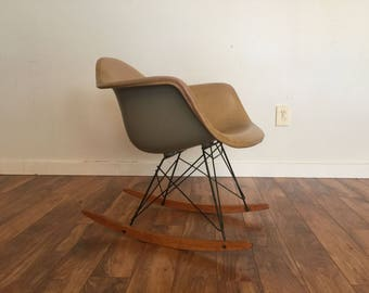 RAR Eames For Herman Miller Rocking Chair, 1950u0027s