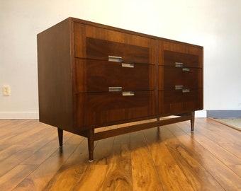 American of Martinsville Lowboy Dresser