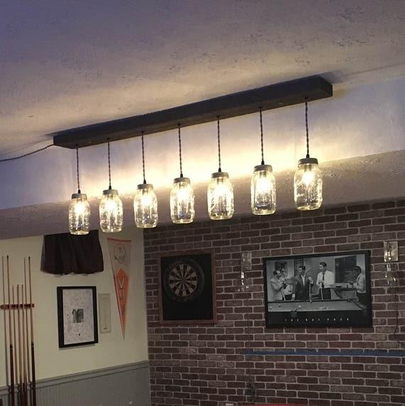 10 Light Diy Mason Jar Chandelier Rustic Cedar Rustic Wood: 7 Light DIY Mason Jar Chandelier Rustic Lighting Rustic