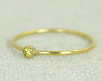 Tiny Topaz Ring, Gold Filled Topaz Ring, Topaz Stacking Ring, Topaz Mothers Ring, November Birthstone, Topaz Ring, Dainty Gold Topaz Ring