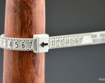 Standard Ring Sizer - Sizes 1 thru 17 with half sizes - Price includes domestic shipping & 10% off Coupon Code for next order !