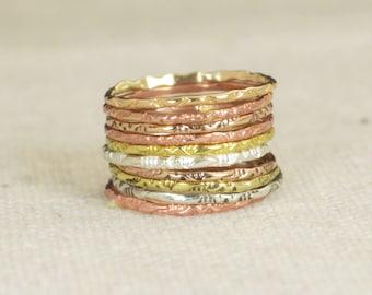 Tribal Rings, Bohemian Rings, BoHo Rings, Hippie Rings, Gypsy Rings, Rustic Rings, Sterling Ring, Brass Ring, Bronze Ring, Gold Ring-A10