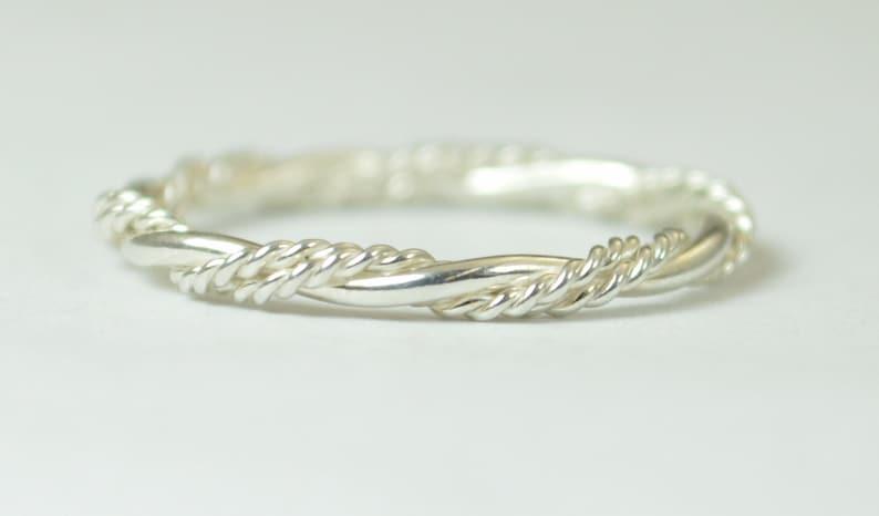 Inexpensive Wedding Rings.Elegant Silver Twist Ring Rope Ring Inexpensive Wedding Band Fancy Stacking Ring Art Nouveau Ring Silver Ring Silver Band Stacking Ring