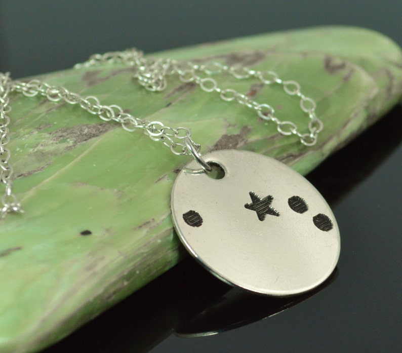Aries Pendant Sterling Silver Aries Necklace Zodiac image 0