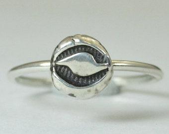 Hurricane Ring, Silver Eye Ring, Bohemian Ring, Statement Ring, Silver Ring, Sterling Ring, Stacking Ring, hippie ring, Miami Fans Ring