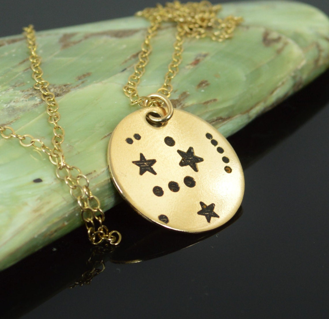 pin constellation orion pendant fashion necklace