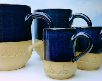 Coffee Mug with Trinity Knot
