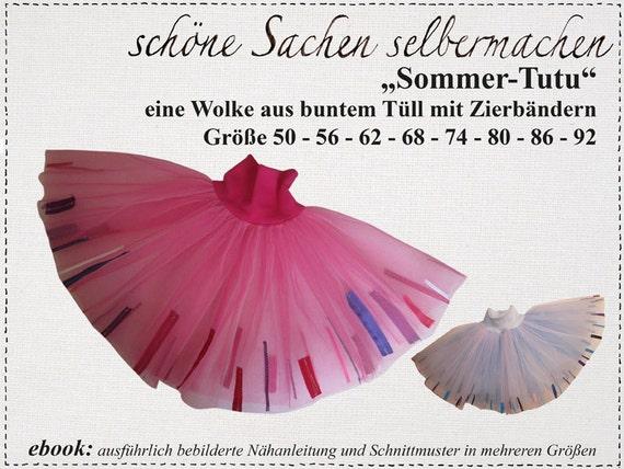 ebook:Sommer-Tutu Gr.50-140   Etsy