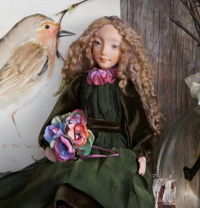 OOAK ART DOLL LOIS Künstler- & handgemachte Puppen