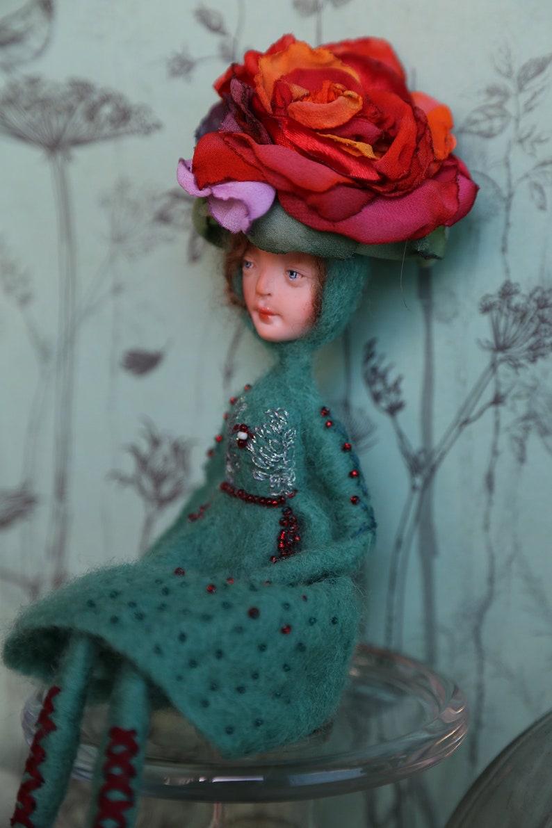 Puppen Spielzeug OOAK ART DOLL MEJA