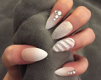 Ombre Fake Nails