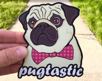 fff4cf5621b Pug Decal   Pug Stickers   Pug Gifts   Pug Laptop Sticker   Pug Mom Gift    Pug Art   Pug Lover Gift   Pug Car Decal   Pug Lover   Pug Life
