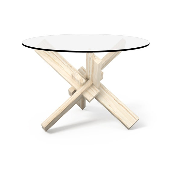 1 6 Round Coffee Table Puzzle Glass Coffee Table