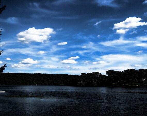 "Aluminum Photo Art - 5""x 7"" Clouds"