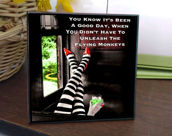 8 Expressions of 'OZ': Quotes, Sayings, Photo Art, Messages on Decorative Ceramic Tiles