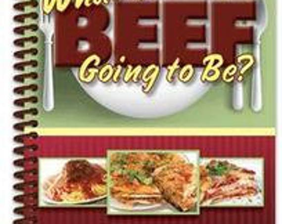 Cookbook - Whats your beef going to be cook book 7027