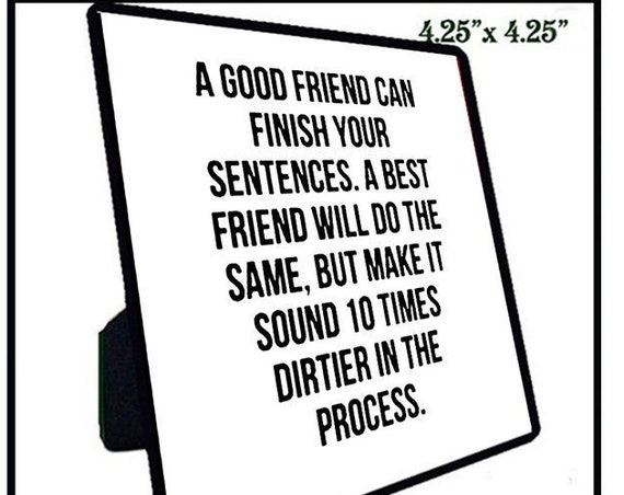 Quotation Tiles - Best Friends 11-20