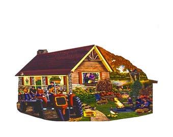 Jigsaw Puzzle - Pumpkin Patch