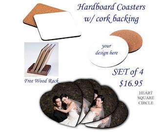 Coasters - Hardboard