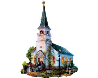 Jigsaw Puzzle - Church
