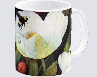 Coffee Mug 11oz- Watercolors by Liz McGee -Christmas - Weddings - Birthdays - Mothers - Dads