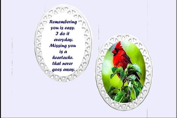 Memorial Ornament -   Cardinal