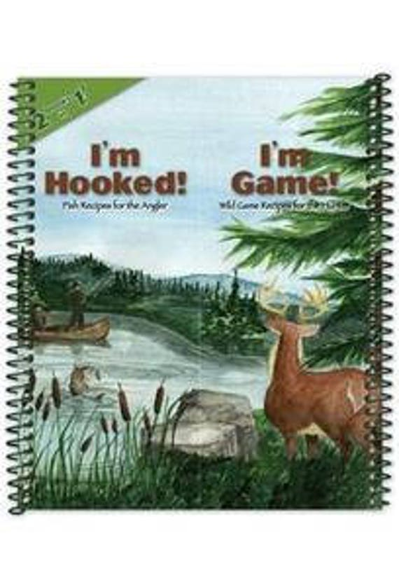 Cookbook - Hooked on Game cook book 7041