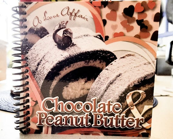 Cookbook - Chocolate peanut butter cook book  7107