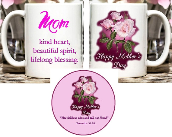Coffee Mug & Coaster for Mom