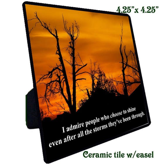 Quotations - Ceramic Tile -  Admiration