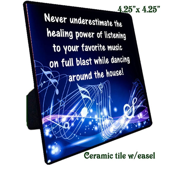 Quotations - Ceramic Tile - Music 4