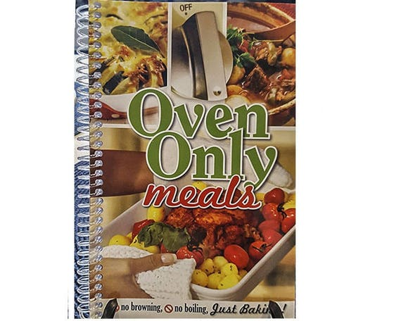 Cookbook - Oven Only Meals  7069 cook book