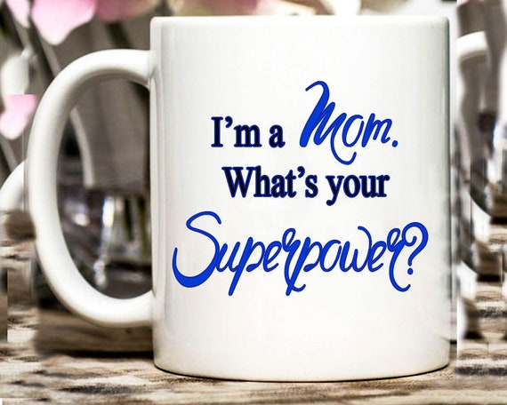 Coffee Mug - Ceramic - Super Mom
