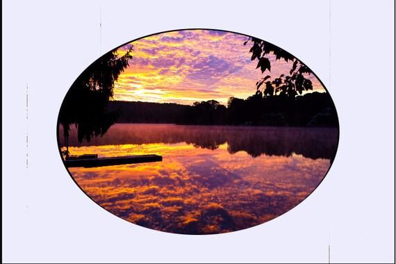 Small Glass SuncatchersLarge Glass Suncatchers - sm  Lake Oxoboxo, CT