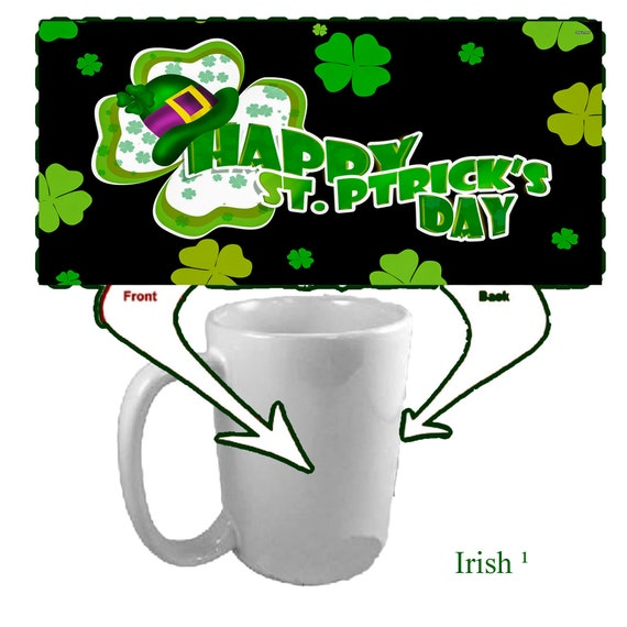 St. Patrick's Irish Coffee Mug - Ceramic
