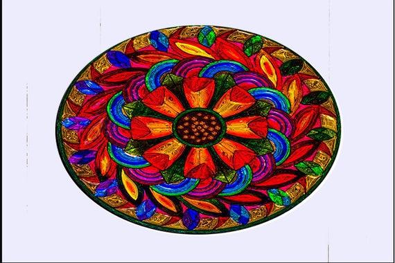 Glass Suncatcher sm - My Boho - small
