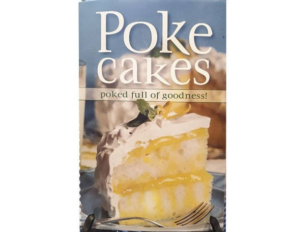 Cookbook - Poke Cake cook book 7080
