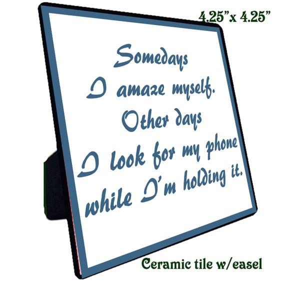 Quotations - Ceramic Tile - Amaze